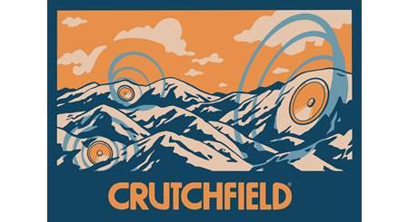 Crutchfield Musical Mountains Sticker