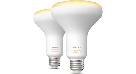 Philips Hue White Ambiance BR30 Bulb 2-pack