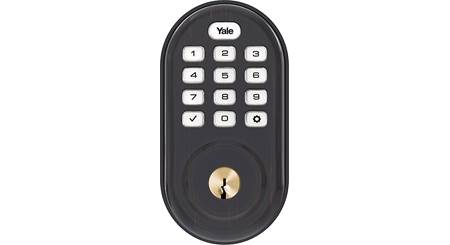 Yale Real Living Assure Lock Keypad Deadbolt (YRD216) with Z-Wave®