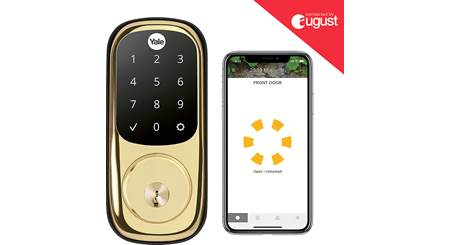 Yale Real Living Assure Lock Touchscreen Deadbolt (YRD226) with Wi-Fi Module