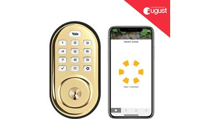 Yale Real Living Assure Lock Keypad Deadbolt (YRD216) with Wi-Fi Module