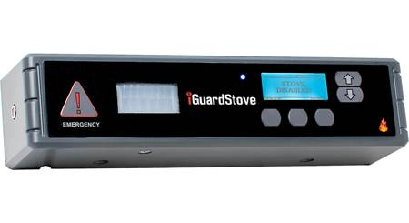 iGuardStove Hardwired Electric Cooktop Monitor