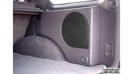 Q-Customs Factory-fit Subwoofer Enclosures Light Gray