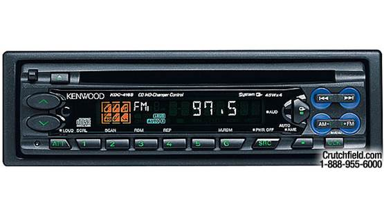 Kenwood KDC-416S Front