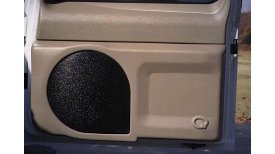 Q-Customs Factory-Fit <br>Subwoofer Enclosures Front