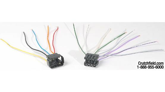 Metra 70-1739 Receiver Wiring Harness Front
