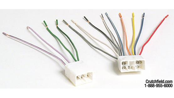 Metra 70-7901 Receiver Wiring Harness Front