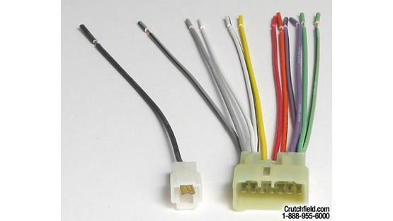 Metra 70-7992 Receiver Wiring Harness Front