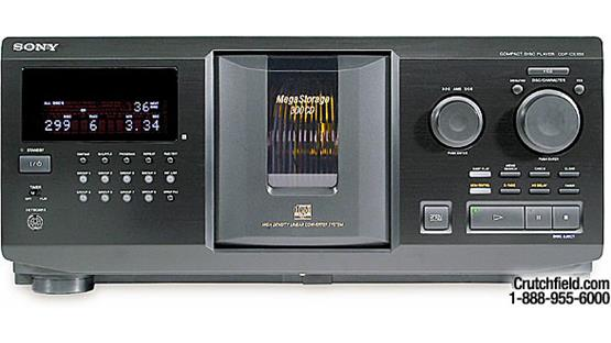 Sony CDP-CX355 Front