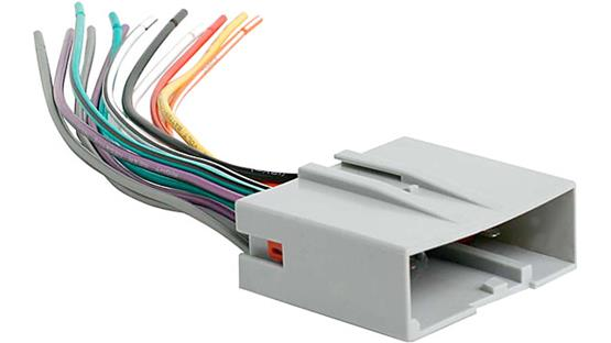 Metra 70-5520 Receiver Wiring Harness Front
