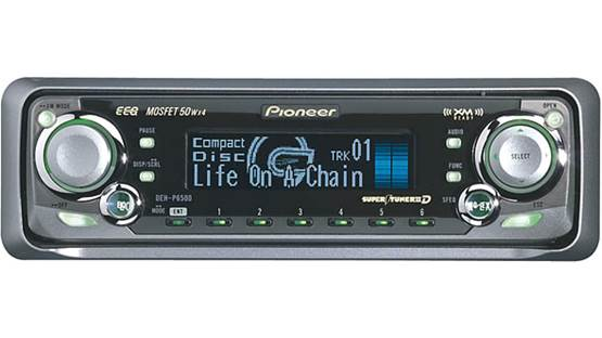 Pioneer DEH-P6500 Front