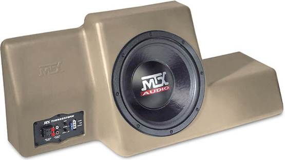 MTX ThunderForm Unloaded Enclosure Tan (sub not included)
