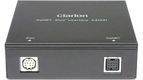Clarion EA1251B Front