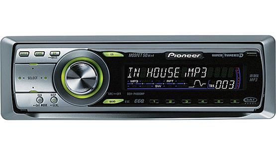 Pioneer DEH-P4800MP Front