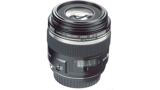 Canon EF-S 60mm f/2.8 USM Front