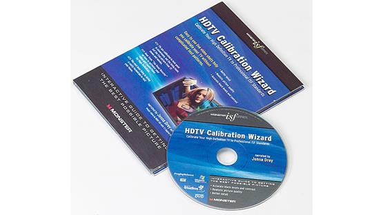 Monster HDTV Calibration Wizard Front