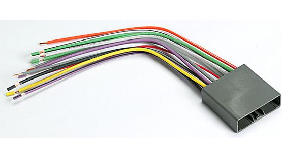 metra 70 1722 receiver wiring harness connect a new car stereo in select 2006 up honda and