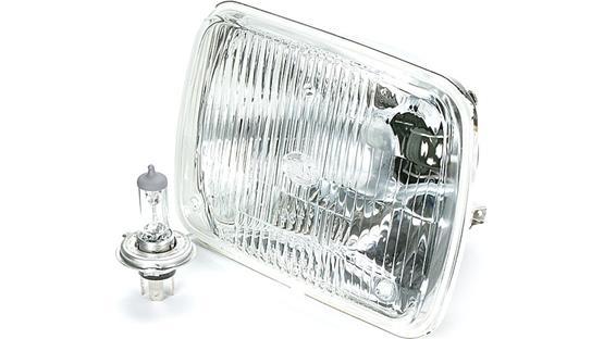 hella vision plus conversion headlamp 200mm rectangular