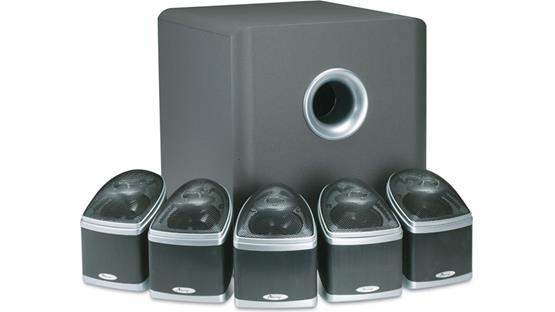 Mirage Nanosat® 5.1 Home Theater Speaker System Front