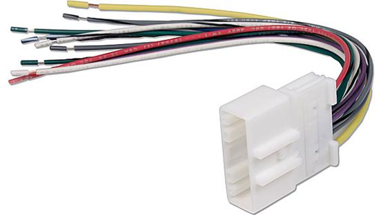 Metra 70-7552 Receiver Wiring Harness Front