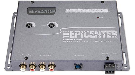 The Epicenter™ by AudioControl Gray