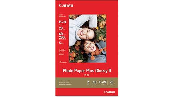 Canon Photo Paper Plus Glossy II Front