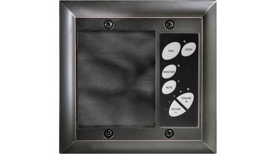 On-Q inQuire™ Patio Intercom Unit Oil-Rubbed Bronze