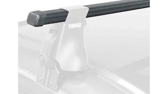 Thule LB50 Square Load Bars Front