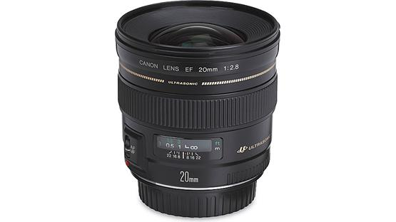 Canon EF 20mm f/2.8 USM Front
