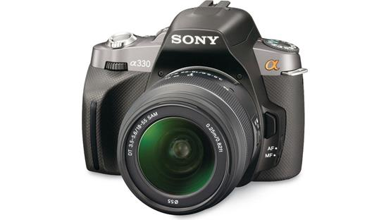 Sony Alpha DSLR-A330 Kit Black