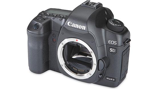 Canon EOS 5D Mark II (no lens included) Front