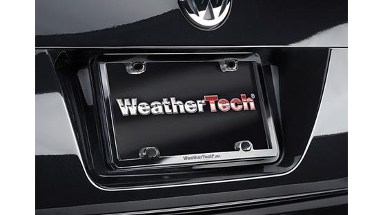 WeatherTech ClearFrame™ Black