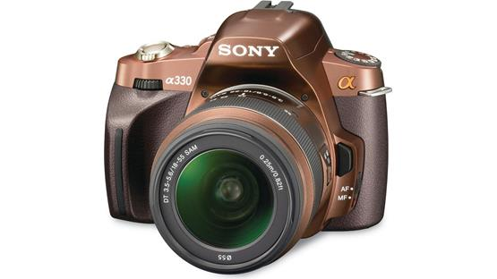 Sony Alpha DSLR-A330 Kit Brown