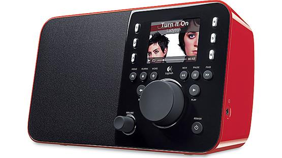 Logitech® Squeezebox™ Radio Red