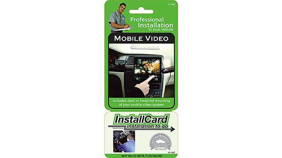 InstallCard: In-dash Video Front