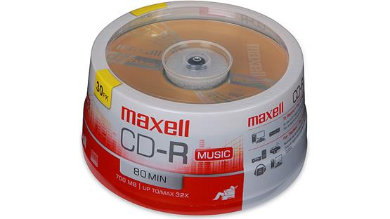 Maxell CD-R 80 Front