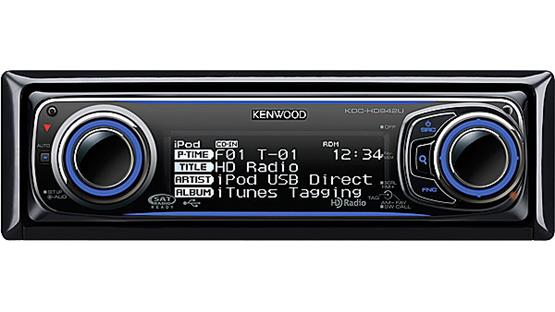 Kenwood KDC-HD942U Front