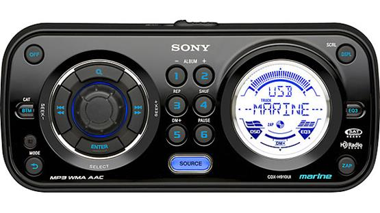 Sony CDX-H910UI Front