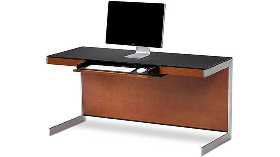 BDI Sequel 6001 Desk Natural Cherry (computer not included)