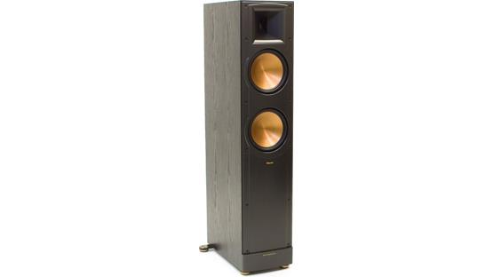 Klipsch Reference RF-82 II Black ash with grille off