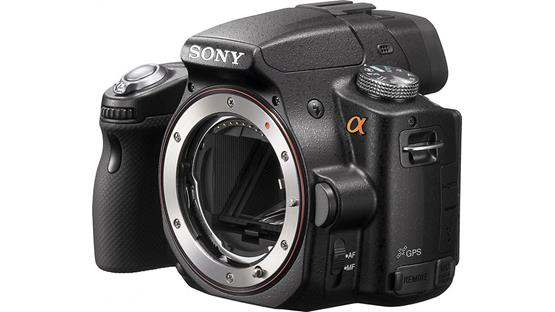 Sony Alpha SLT-A55V (Body only) Front