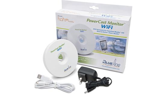 Blue Line BLI 31100 PowerCost Monitor™ WiFi Front