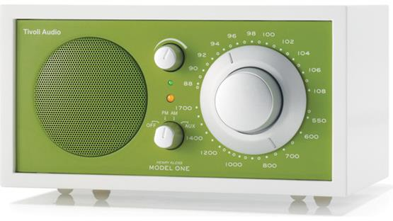 Tivoli Audio Frost White Model One Frost White and Green