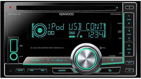 Kenwood DPX308U Front