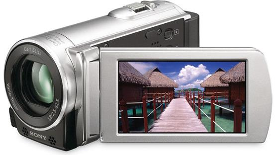Sony DCR-SX83 Handycam® Front