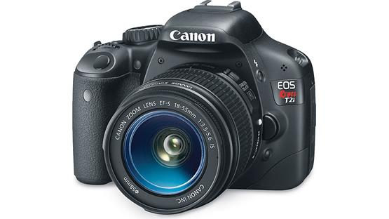 Canon EOS Digital Rebel T2i Kit Front