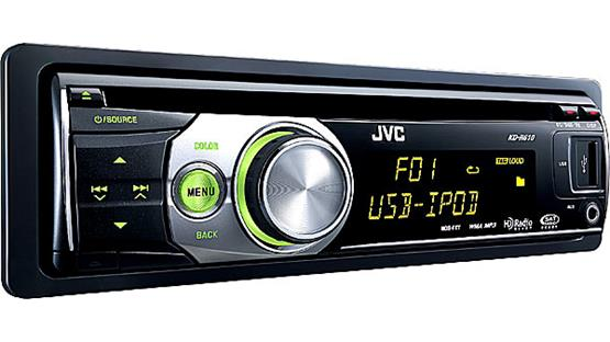 jvc kd r610 cd receiver features specs at. Black Bedroom Furniture Sets. Home Design Ideas