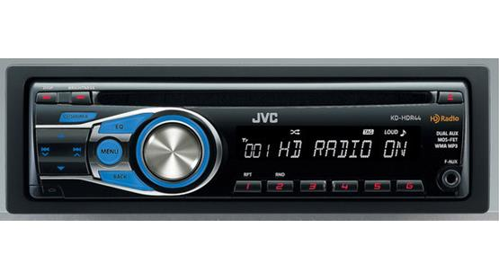 JVC KD-HDR44 Front