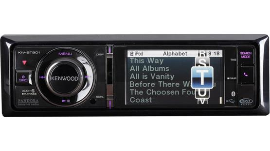 Kenwood KIV-BT901 Front