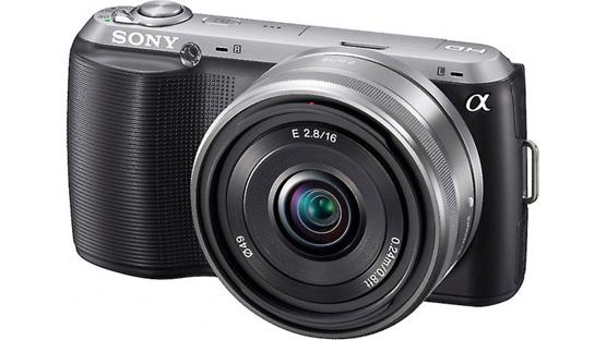 Sony Alpha NEXC3A Front